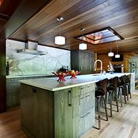 Serene City Dwelling Kitchen