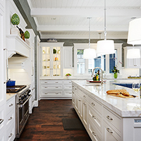Lakeside Chic Kitchen