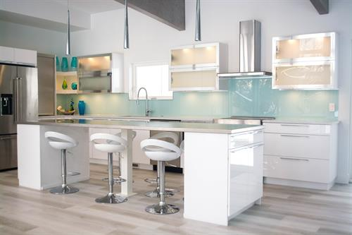 Crystal Acrylic Kitchen