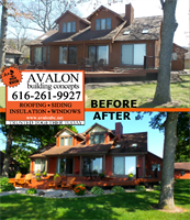 New siding and gutters in Shelbyville.  Avalon is a Grand Rapids GAF Master Elite roofer, WOOD TV 8's Roofing Expert and three-time President's Club Award winner. Our customer service has earned us an A+ rating with the Better Business Bureau, a Super Service Award with Angies List, Best of Houzz 2017 honors and Elite Service Professional status with Home Advisor. We offer roofing, siding, insulation, windows and much more.