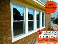 Avalon Building Concepts installed new windows in Grand Rapids.  Avalon is a Grand Rapids GAF Master Elite roofer, WOOD TV 8's Roofing Expert and three-time President's Club Award winner. Our customer service has earned us an A+ rating with the Better Business Bureau, a Super Service Award with Angies List, Best of Houzz 2017 honors and Elite Service Professional status with Home Advisor. We offer roofing, siding, insulation, windows and much more.