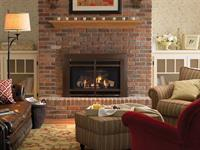 Heat & Glo Supreme I30 Gas Insert to retrofit a wood burning fireplace.