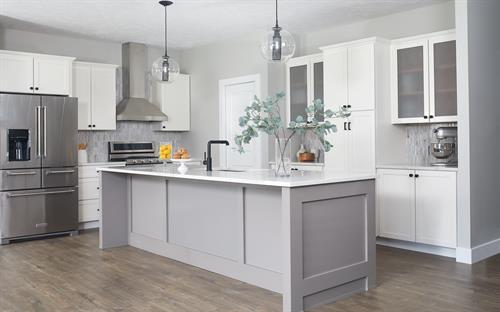 Transitional Condo Remodel- Kitchen