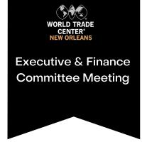 WTCNO Executive & Finance Committee Meeting