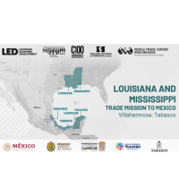 Louisiana-Mississippi HYBRID Trade Mission to Mexico 2021