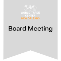 WTCNO Board of Directors Meeting 4/20/2021