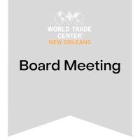 WTCNO Board of Directors Meeting 3/16/2021