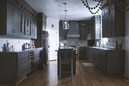 Cabinet and Granite work