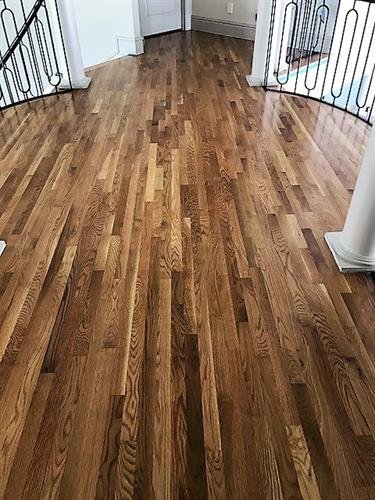 Hardwood Oak - Custom Stain