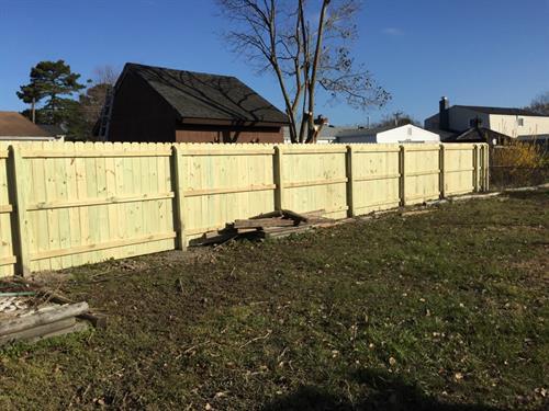 We install fences!