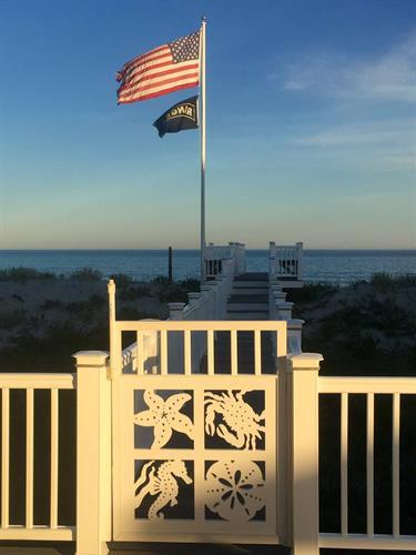 Custom PVC Nautical Gate
