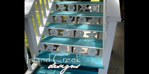 Custom PVC Stair Risers