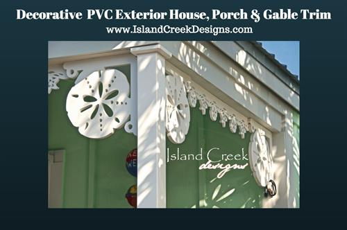 Custom PVC Brackets & Exterior Trim