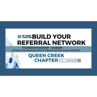 9:00am Queen Creek Networking    (In-Person)