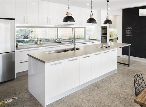 Caesarstone countertops are a great option for sleek modern design.