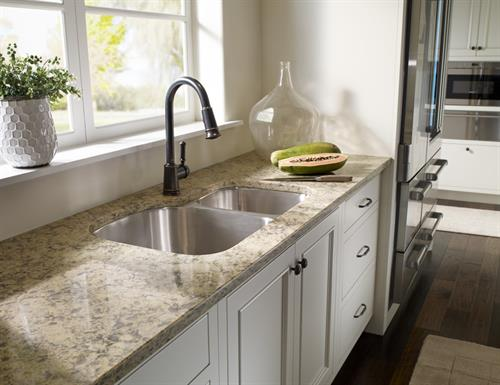 Silestone is an industry favorite when it comes to quality and easy care.