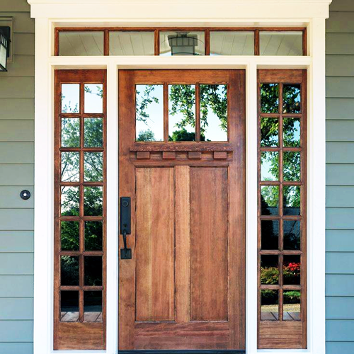 We believe in making a strong entrance. From impact glass to iron doors, we have what you want and more.