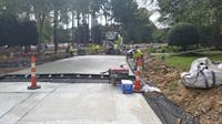"GC - Concrete Overlay - 7"" Unreinforced Doweled (Ex. Concrete Base) - Full Lane"