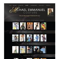 Website: MIchael Emmanuel Couture