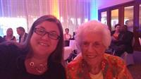 with Carrollwood Historian, Lois Abbott Yost