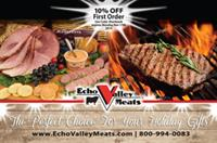 """Shark Tank"" Echo Valley Meats Postcard"