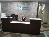 Northdale Executive Suites reception area
