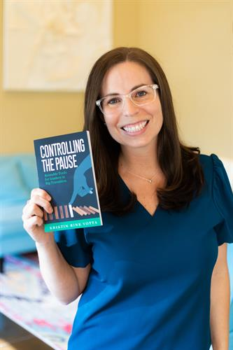 Kristin is officially an author!