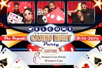 Custom Casino Experience Sponsored by Women's Care Florida