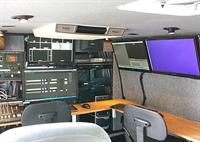 Inside our production unit.  We are full HD, multicamera switching, streaming and more!