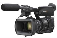 We shoot in HD on Sony EX1 cameras