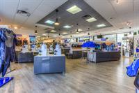 Sales floor Aqua Lung Gear
