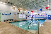 Heat indoor scuba and swimming pool