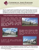 Let us help you buy, sell or lease commercial real estate!