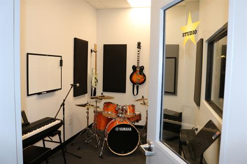 Bach to Rock recording studio
