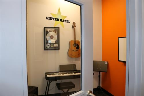 Bach to Rock Sister Hazel lesson room