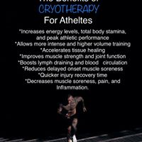 HERE IS WHY AND ATHLETE NEEDS TO CRYO!!