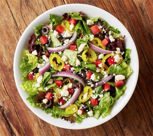 Our Greek Salad could become your favorite