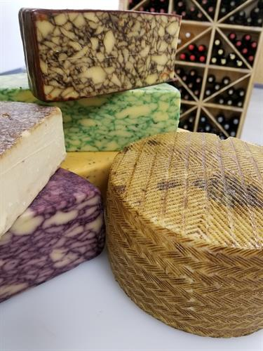 Selection of Artisan & Specialty Cheeses