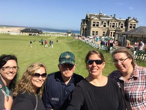 Touring the Old Course at St. Andrews