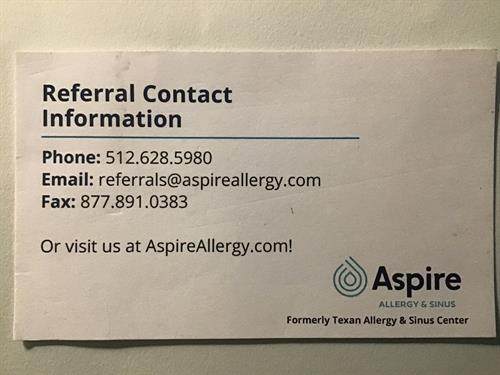 Referral Information