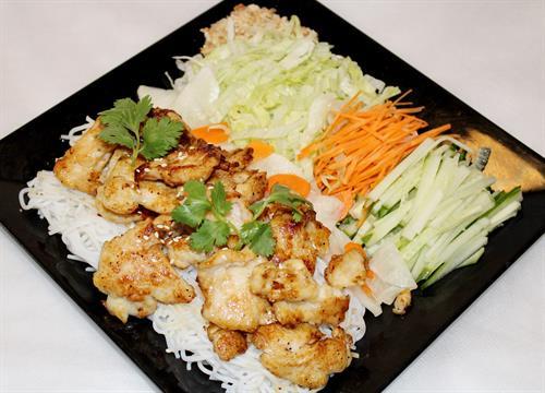 Grilled Chicken Noodle Bowl
