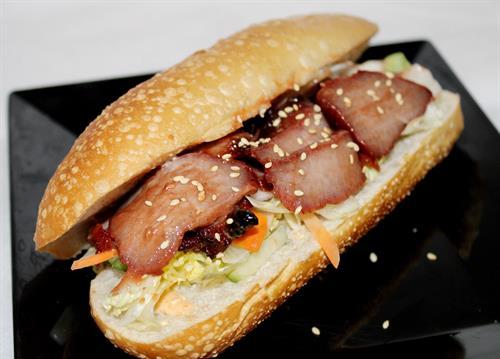 Char-Siu Pork Sandwich