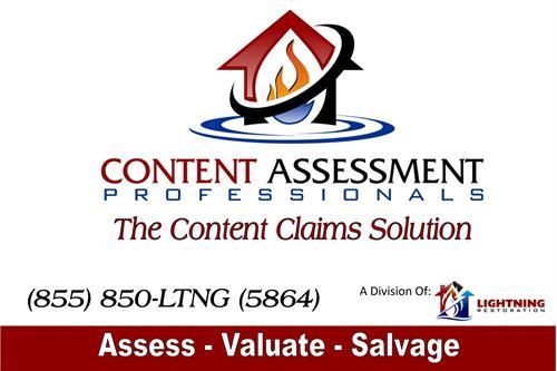 Content Assessment Professionals - a Division of Lightning Restoration