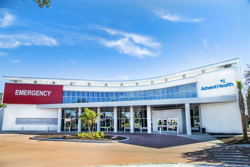 AdventHealth Carrollwood Dr. Kiran C. Patel Emergency Department