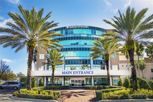 AdventHealth Carrollwood Main Entrance