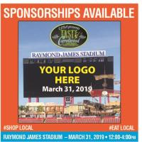Free Food_Family Fun at Raymond James Stadium on March 31, 2019