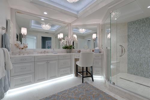 Pelican Bay - Bay Collony - Remodel - Master Bath
