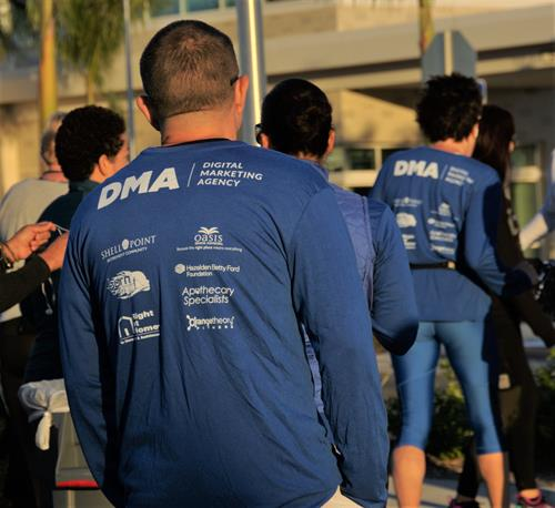 DMA involvement with Lee Health's 5K Run