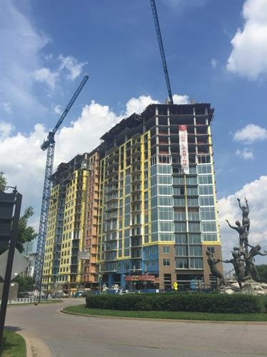 Element Music Row Apartments  (Nashville, TN) green building certified USGBC LEED