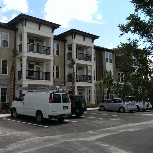 Nona Park Village Apartments (Orlando FL) green building certified (NGBS) National Green Building Standard